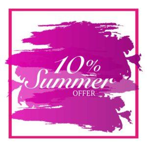Summer Sale 10% Off