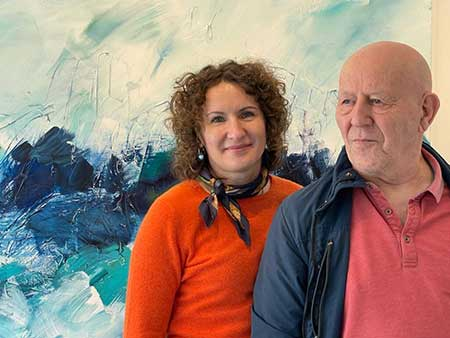Kasia and Janus Avivson - Art Gallery